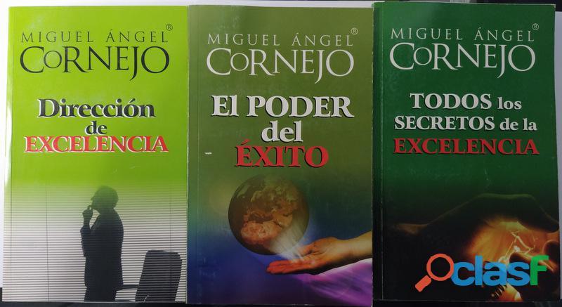 Vendo Pequeña Colección de libros de Miguel Ángel Cornejo 4