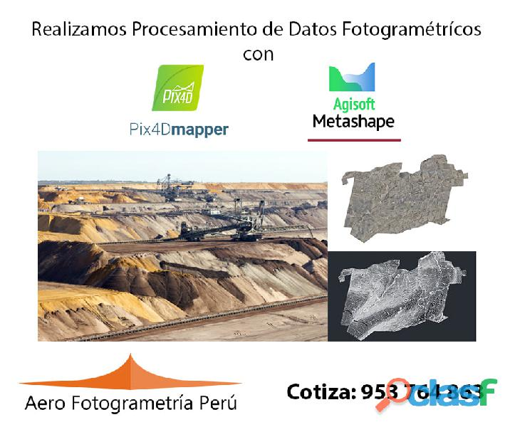 ¿Necesitas realizar Procesamiento de Datos Fotogramétricos ? 1