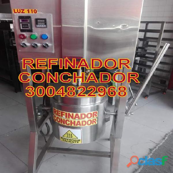 REFINADOR CONCHADOR DE CACAO,TOSTADORA ALMENDRAS,PRENSA EXTRACTORA MANTECA