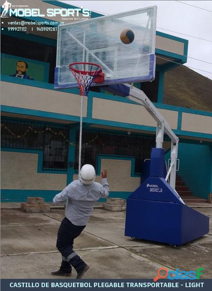 Tabero de basquetbol profesional mobel sports