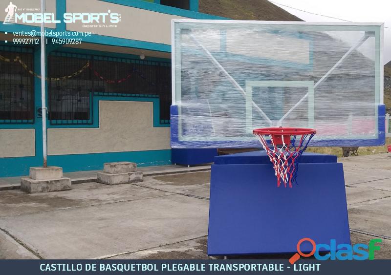 TABERO DE BASQUETBOL PROFESIONAL MOBEL SPORTS 2