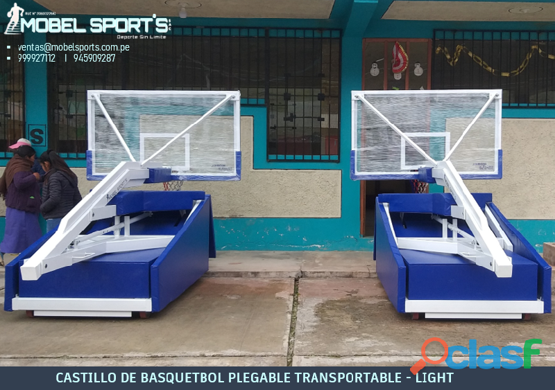 TABERO DE BASQUETBOL PROFESIONAL MOBEL SPORTS 3