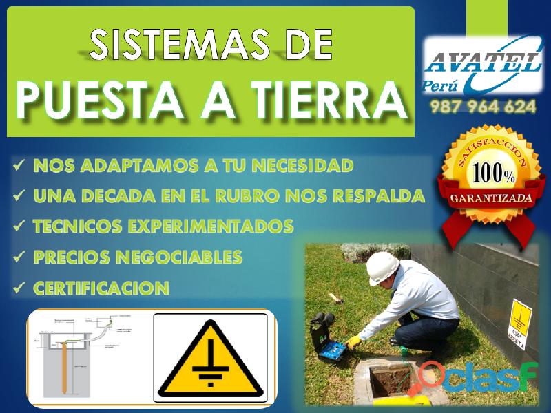 Pozos a tierra (construcción   mantenimiento)