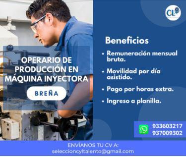 Operario de inyección-lima en lima