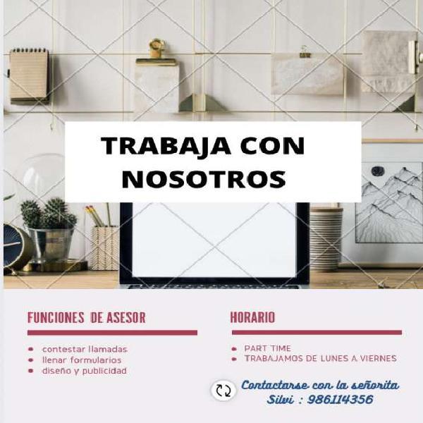Oportunidad laboral en Trujillo