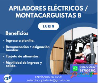 Apilador eléctrico de clase dos o montacargas B LURIN