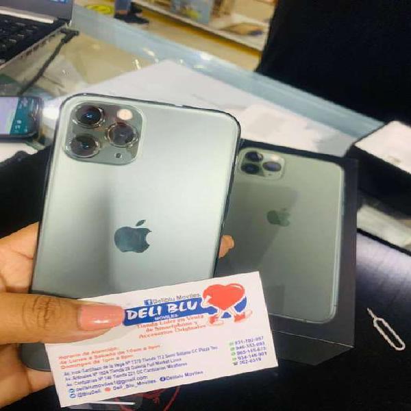 Iphone 11 pro 256 gb tienda fisica somos deliblu moviles