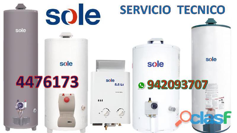 SERVICIO TECNICO TERMA SOLE 016750837