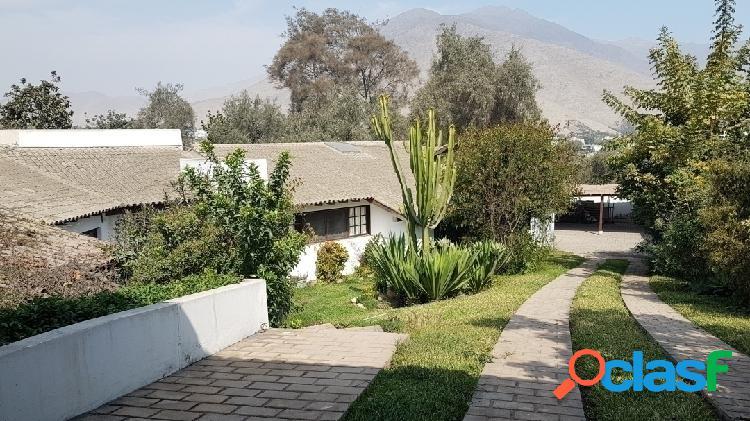 En venta casa con terreno de grandes dimensiones ubicada en rinconada alta