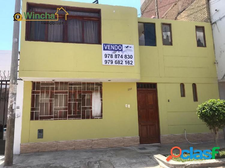 CASA 02 PISOS - URB. LOS PARQUES