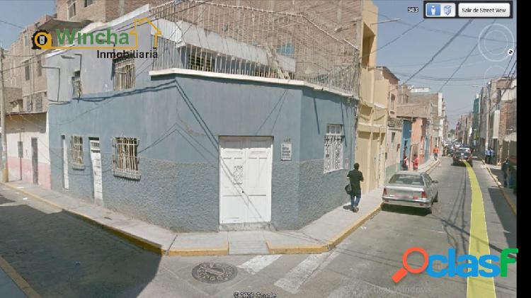 Vendo casa en el centro de chiclayo.