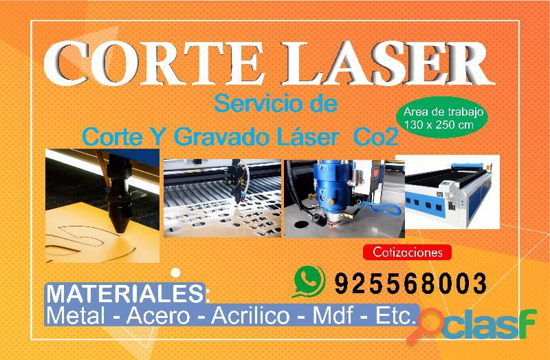 servicio de corte láser