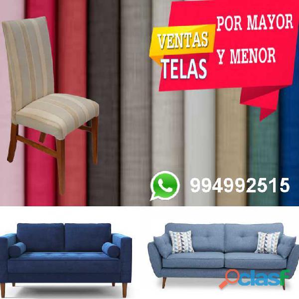 Telas para muebles por mayor