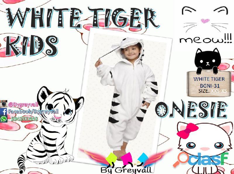 Pijama enterizo disfraz FELINOS: Leon, Leopardo , Tigres 3