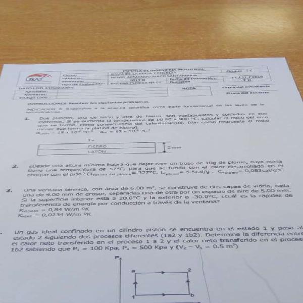 Clases matemática 1,2,3, física, química, calculo,