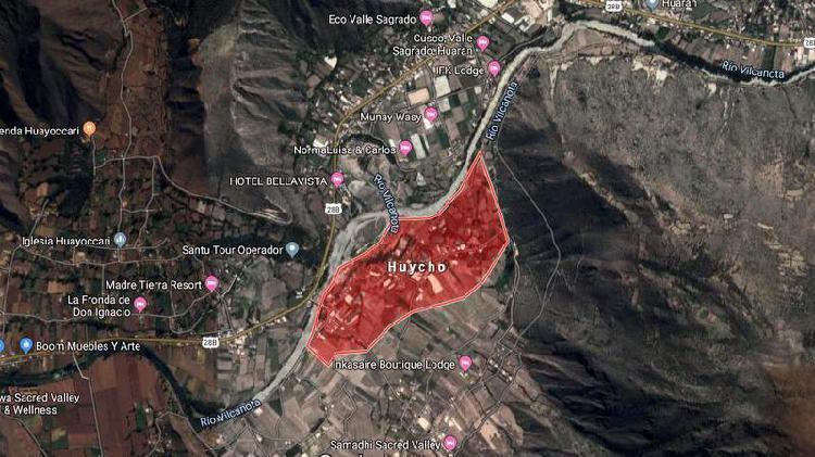 Venta de terreno en cusco - valle sagrado al lado de hotel