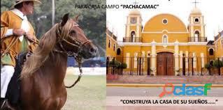 VENTA DE TERRENO DE AREA 160M2   DISTRITO DE PACHACAMAC 3
