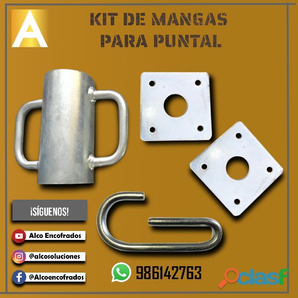 Kit de mangas para puntales