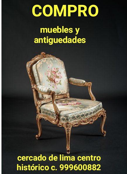 Compro muebles antiguos luis xv y. coloniales en lima