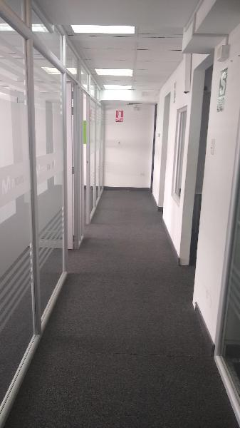 Alquiler oficina amoblada - san isidro ? canaval y moreyra