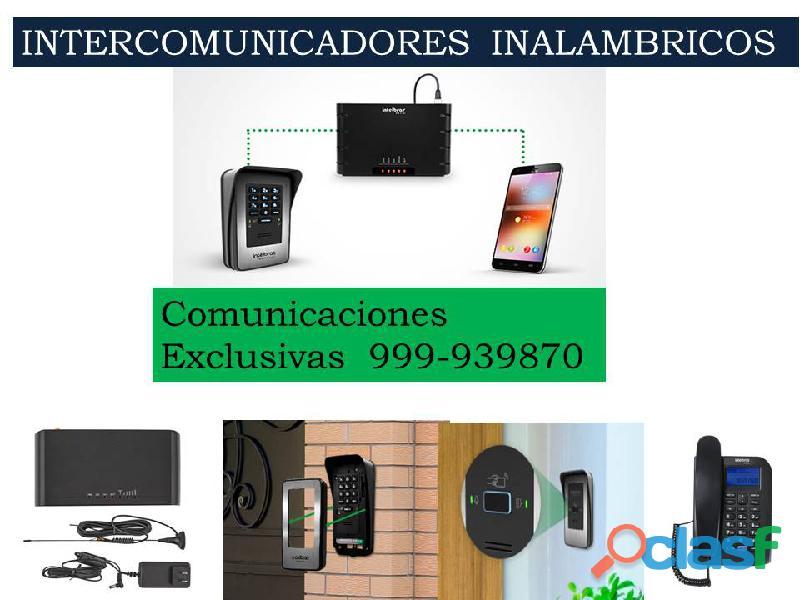 INTERCOMUNICADORES INALAMBRICOS