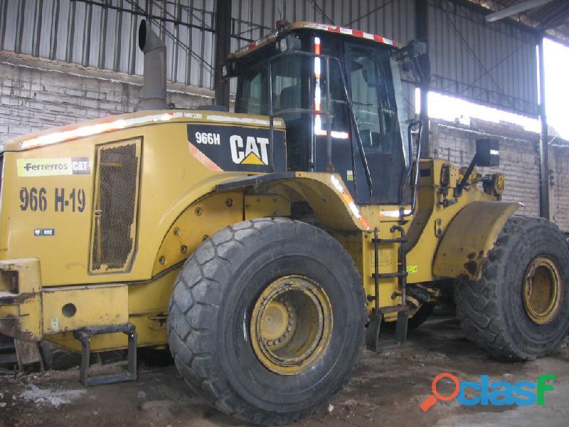 Vendo cargador frontal cat 966h   2008.
