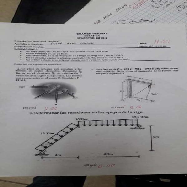 Clases matemática, 123, física, química, estadística,