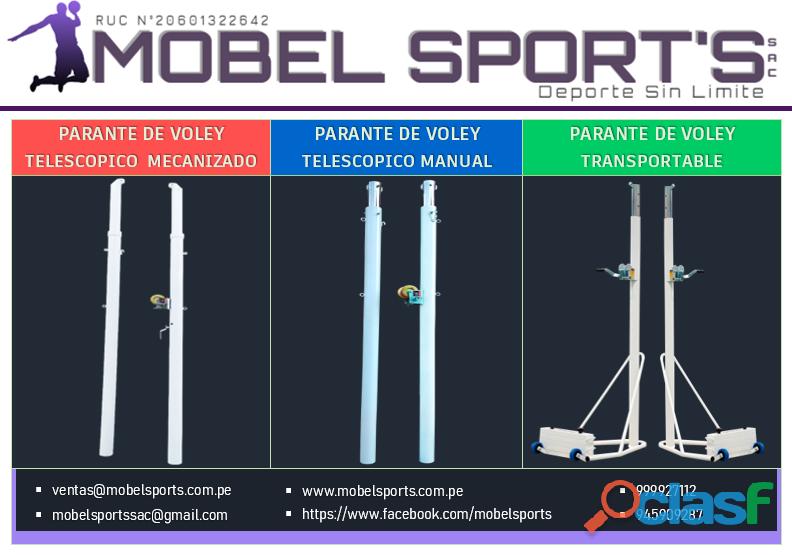 Parantes p/ voley   mobel sports