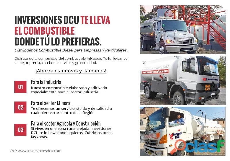 INVERSIONES DCU   Distribución de Combustible 1