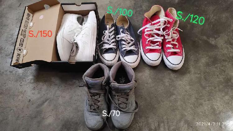 Zapatillas Converse All Star y Hi Tec sierra lite