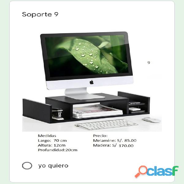 Soporte de monitor de PC 9