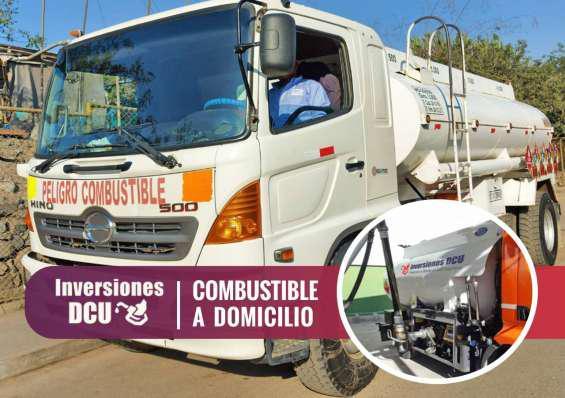 Inversiones dcu / despacho de diesel en Lima