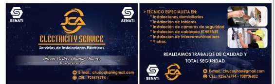 Servicios eléctricos en huancayo