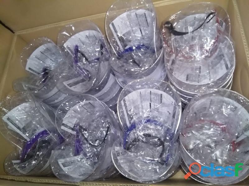 Protector Facial Acrílico 100% Virgen Protégete 12