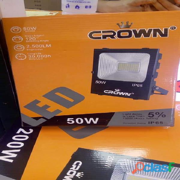 reflectores led crown 200 watts y 100 watts entre otros 2
