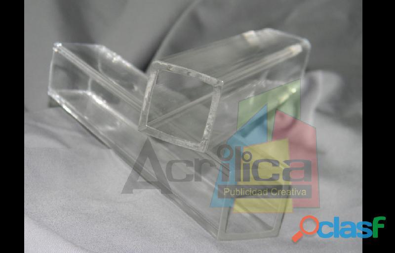 Tubos Cilindros Cajas Box Tapas Urnas Acrilicos Acrilicas Acrilica 9