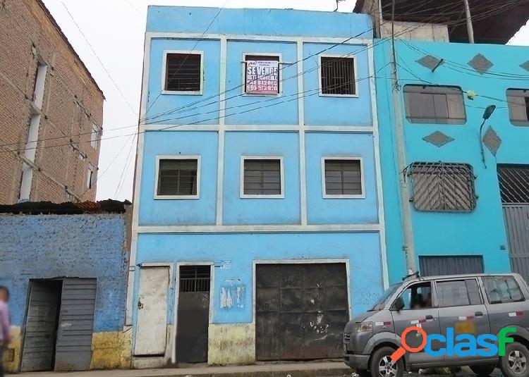 Casa comercial en venta 3 pisos 328 m2 jr gamarra - lima