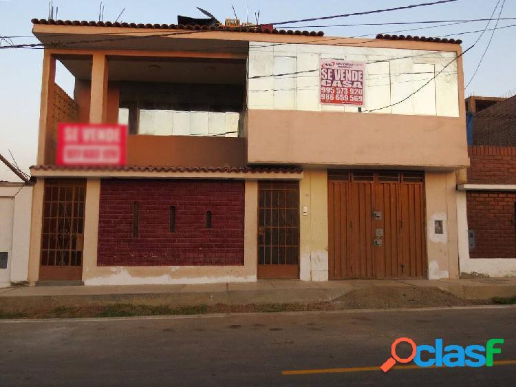 Casa en venta 2 pisos 160 m2 urb señor de los milagros - ancon