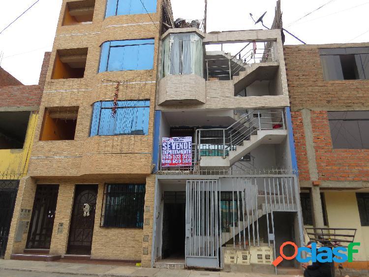 Departamento en venta 1er piso 120 m2 urb los topacios - ate