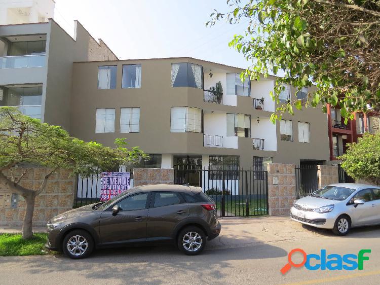 Departamento en venta 1er piso + estacionamiento jr claude debussy - surco