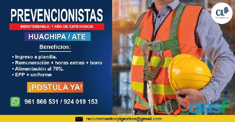 Agente de seguridad   huachipa