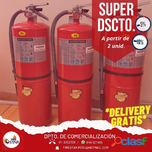 Extintores con certificacion ul   arequipa