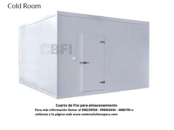 Cámara frigorífica o cuarto de frío en Lima