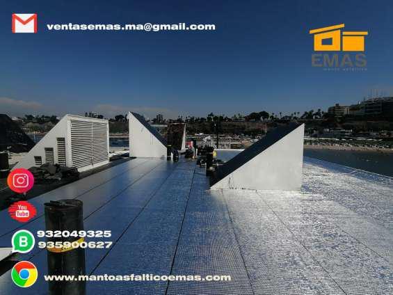 Manto aluminizado en todo el peru en Lima