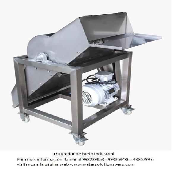 Triturador de hielo industrial en lima