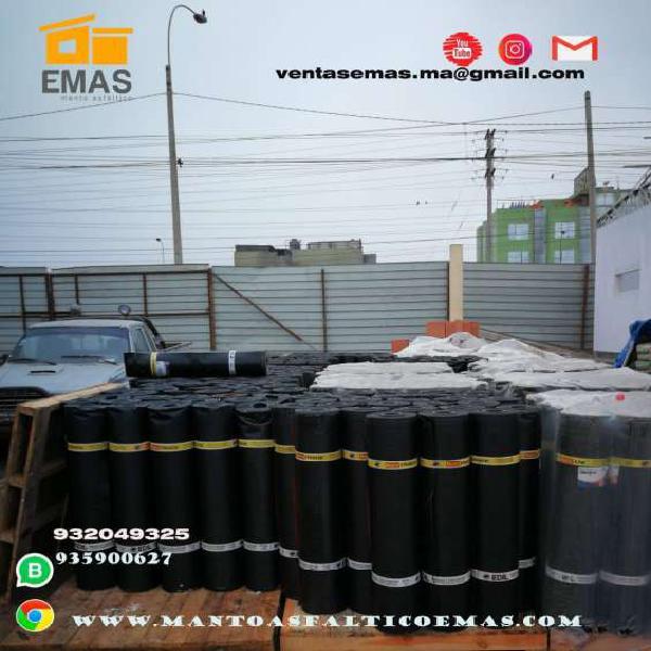Venta de mantos y asfaltos en Lima