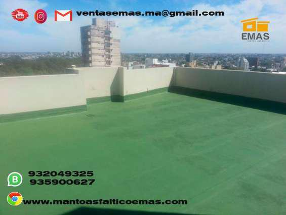 Venta e instalcion de todo tipo de manto asfaltico en Lima
