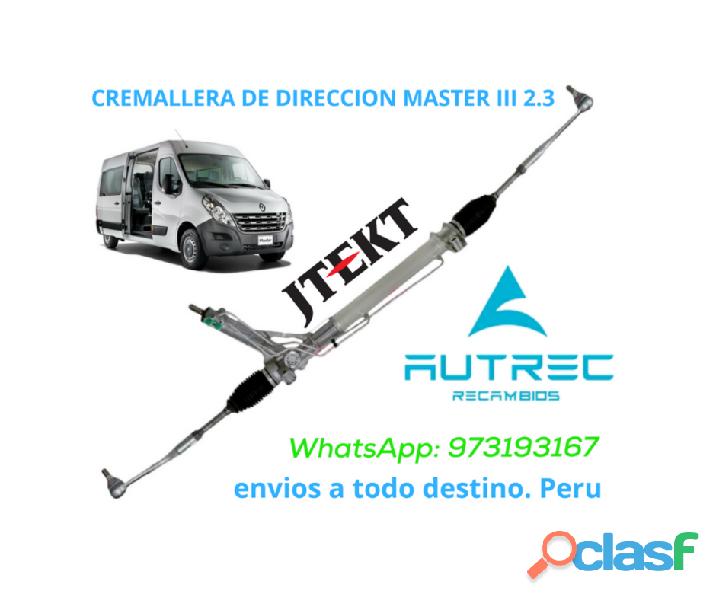Cremallera de Direccion para Renault Master 2.3 M9T