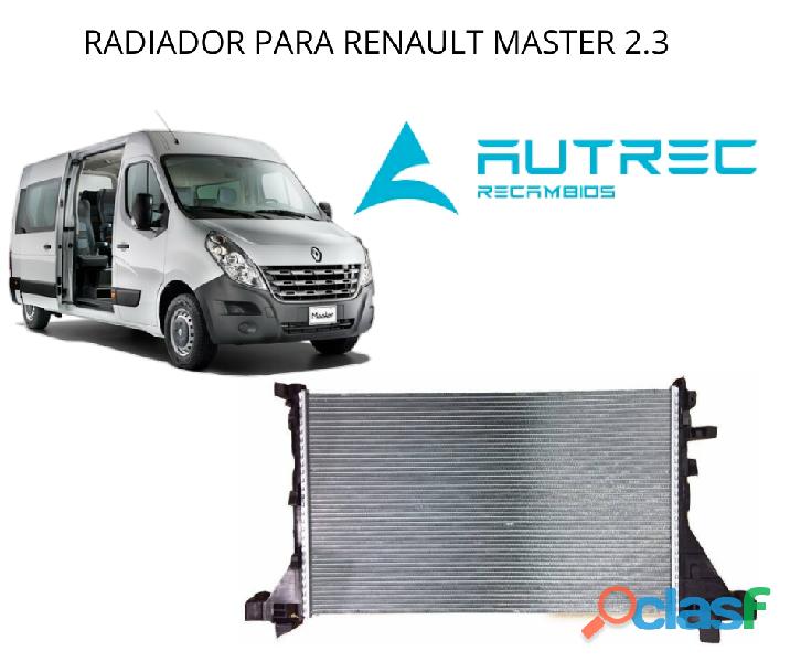 Radiador de Renault Master 2.3