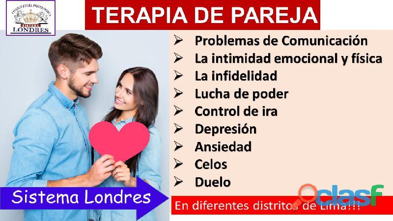 TERAPIA DE PAREJA LONDRES